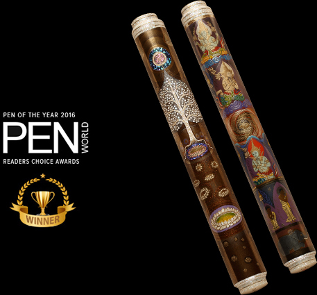 AP Limited Editions wins the coveted PEN OF THE YEAR AWARD - 2016